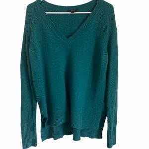 J. CREW   Women's green teal pullover sweater M